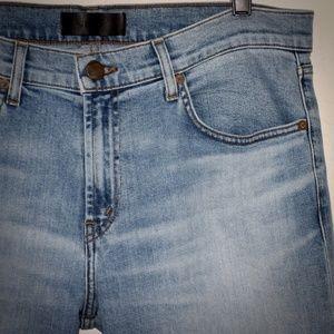 J Brand Mens Slim Straight Leg Jeans 34 Tyler Blue